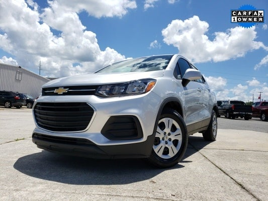 2017 Chevrolet Trax Ls In Dallas Ga Atlanta Chevrolet Trax Hardy Family Ford